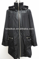 ladies long leather coats with hood winter 2014
