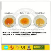 FDA high quality cake tool silicone egg bake ring