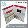 """4.3""""lcd video card folder for advertising new marketing tool"""