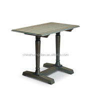 unique restaurant tables square to round with grill HDCT353