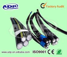 Cable aéreo 0.6/1kv de bajo voltaje de trenzado de cable abc