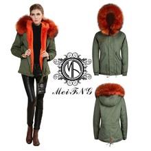 Korean movie star gianna jun same style natural knitted mink arctic fox fur