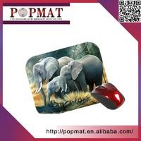 Eco-friendly Custom Logo customized rubber animal mouse mat