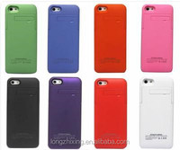2200mAh External Backup Battery Charger Case cover Pack Power Bank for iPhone 5 5S