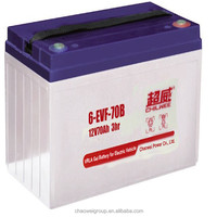 Advanced Direct Casting technical Deep cycle Silicone gel battery 12V90AH/20Hr for golf carts and electric bus