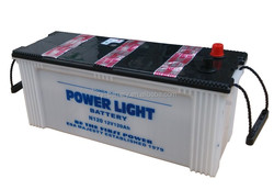 12V Dry charged Best quality Starting Automotive battery N120 120ah