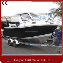CE Approved Aluminium Fishing Boat with Cabin