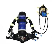 Fibra de carbono 6.8L bombero respirador de respiración SCBA