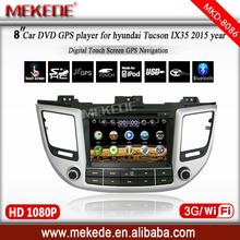 8inch HD touch screen Car DVD player for 2015 Hyundai Tucson/IX35