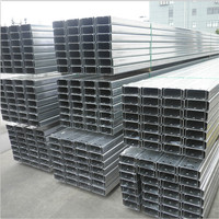 Easy-install long pattern steel types of purlin