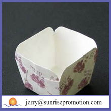 china disposable printed cupcakes paper baking cups
