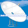 gran banda c 180 centímetro de antena parabólica antena