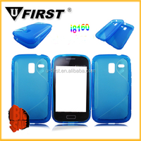 Hot Simple S Line Pattern TPU Cover Case For Samsung Galaxy Ace 2 i8160