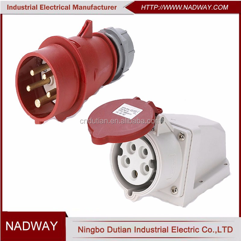 electrical 380v 5 pin 3 phase male female plug socket.jpg