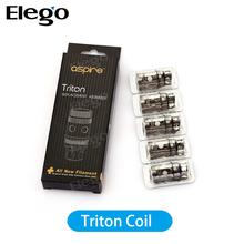 China wholesale elego 1.8ohm &0.4 ohm aspire triton coil, aspire triton tank & triton accessories