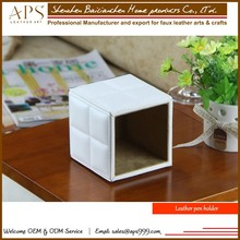 New office stationery retractable desk pen holder