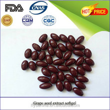 Skin protecting product grape seed extract softgel