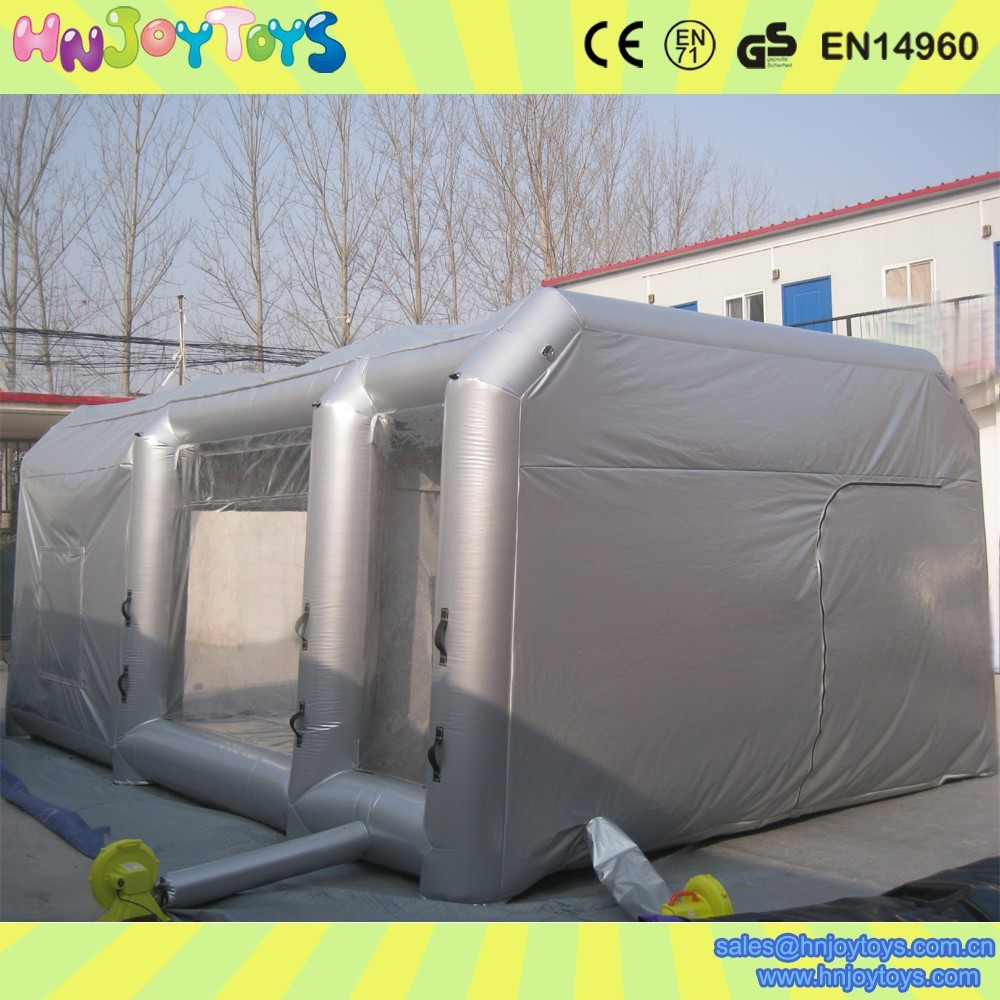 cheap mobile car inflatable paint booth inflatable