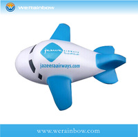 cheap 2014 promotional pu plane shape stress ball