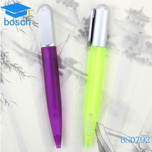 Beautiful color Transparent small plastic pen