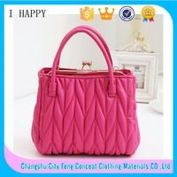 2015 Factory supply Sweet Cheapest Women Handbag Korea Wholesales Bag