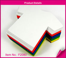 T-shirt foam die cut eva craft shapes