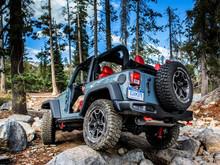 Parachoques trasero décimo aniversario para Jeep Wrangler