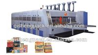 Corrugated carton box Automatic feeder flexo printer rotary slotter and die cutter machine