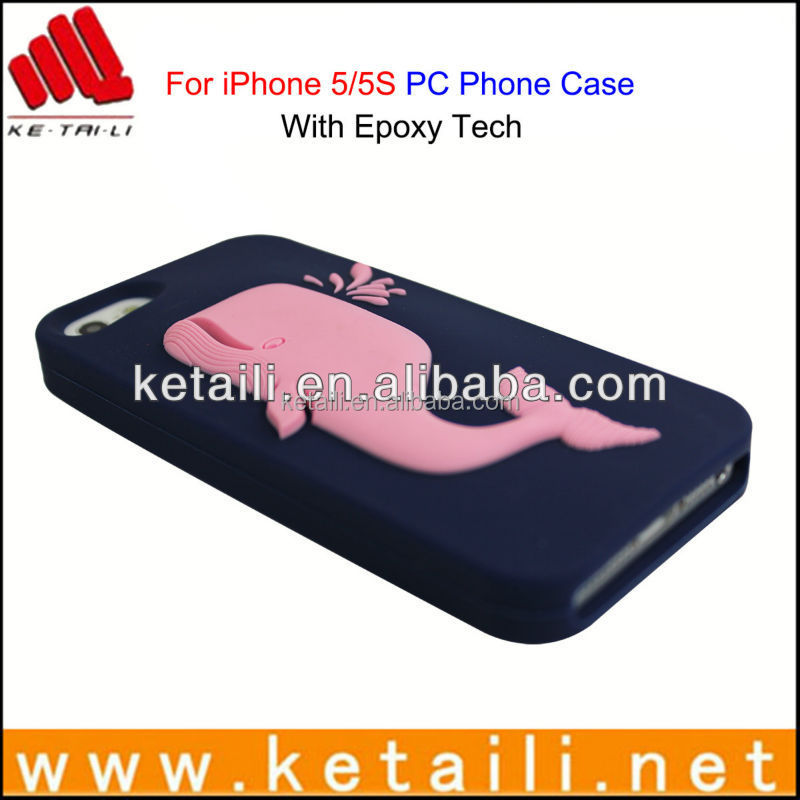 silicone epoxy cell phone cover for iphone 6 welcome OEM