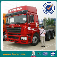 popular 420hp 10 wheeler Shacman brand new tractor trucks with single bed EURO 3 for cargo