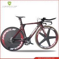 Carbon TT Time Trial Carbon Fiber:Lasted Design Carbon Time Trial Bicycle Complete By MIRACLE