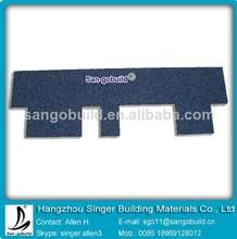 Cheap Bitumen Goethe Tiles Asphalt Blue Roofing Shingles