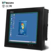 "Wecon 10.4"" cheap hmi industrial pc all in one pc for windows 7.0"