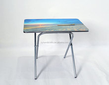 fancy design height adjustable desk,Portable aluminum folding dining table and chair,New design wooden desk in bed