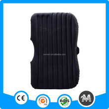 Travel flocking inflatable car air bed