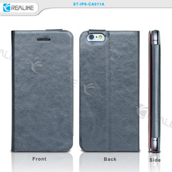 pu flip cover for iphone 6 china supplier ,for iphone 6 dairy leather case