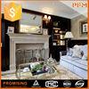Home decoration elegant natural interior stone fireplace