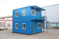 Modern New Prefab Steel popular used standard prefab cabin container house
