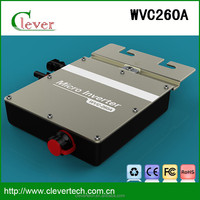 solar grid tie inverter DC to Ac WVC260a IP67 for car manufacturer