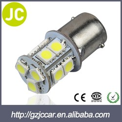 car led light bulb popular high power led brake light 5050 smd led 1156 5050 w5w 13smd auto socket led car bulb
