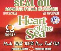 Omega-3 Harp Seal Oil