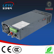 Hot selling CE RoHS 24V Parallel function SCN-1000W DC High Voltage Power Supply