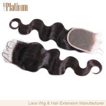 8A Grade Cheap Virgin Brazilian Human Hair Lace Closure Piece