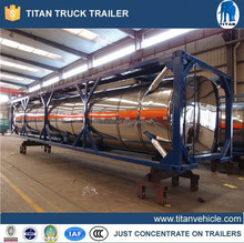 2015 New 40f 20ft iso fuel tank containers for sale