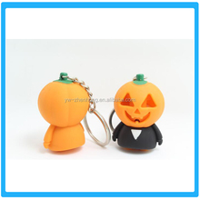 Hallowmas pumpkin Sound and light key ring