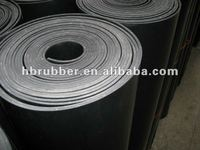 Rubber insertion sheet, cloth insertion rubber