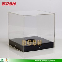 High transparent acrylic display case for sale