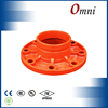 axial compensator and flange
