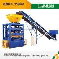 interlocking lead brick interlocking block making machine qt4-24 dongyue machinery group