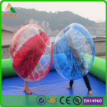 Strong 1.0mm TPU belly bump inflatable ball/ inflatable belly bumper ball popular sale